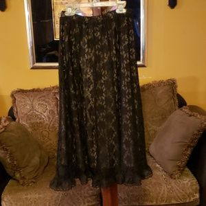 Sharagan lace skirt